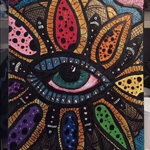 Eye Flower Painting